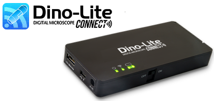 DinoConnect for Dino-Lite on iOS and Android